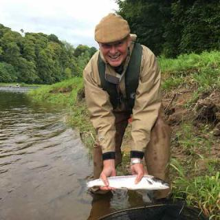 Fly Fishing On The Lower River Tay