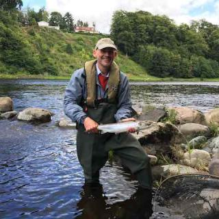 Fly Fishing The Tay In Summer