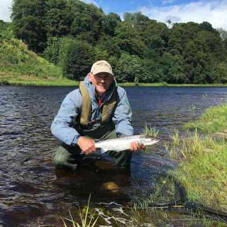 Guided Salmon Fishing On The Tay