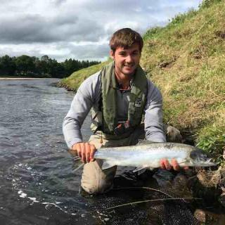 Summer Salmon From The River Tay With Jock Monteith