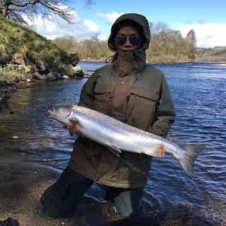Thai River Tay Salmon Fisher