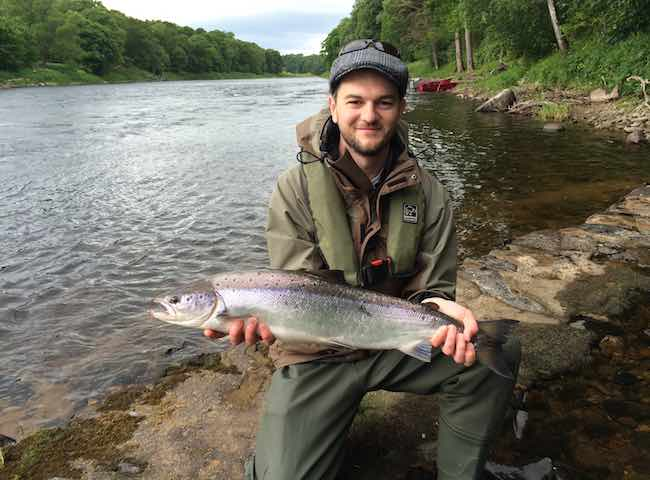 Guided Salmon Fishing Gift Voucher