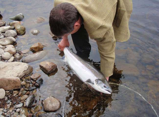 Jock Monteith Salmon Guide Ghillie
